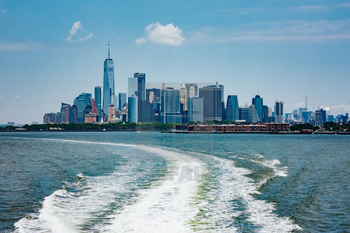 """Manhattan Ferry"" stock image"