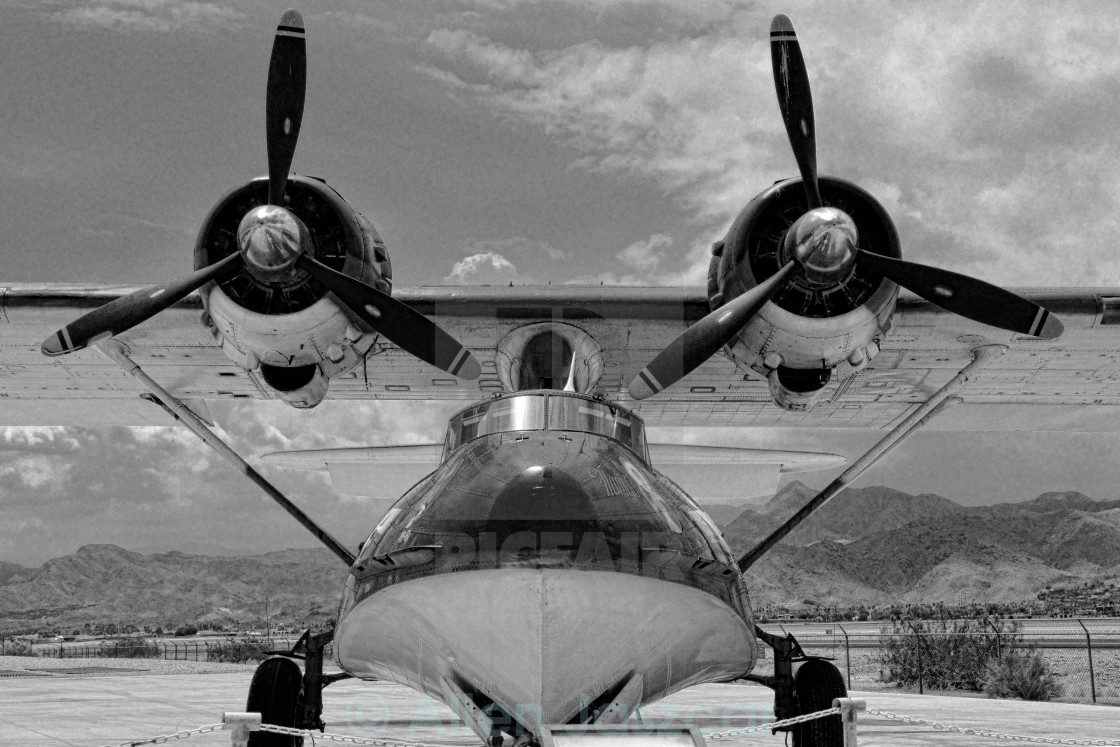 """PBY Catalina"" stock image"