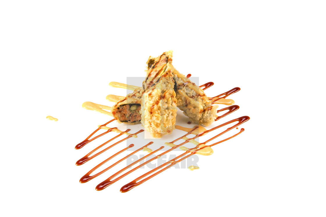 """""""deep fried BC roll"""" stock image"""