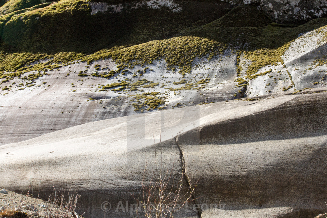 """""""close-up of granite formation in Squamish"""" stock image"""