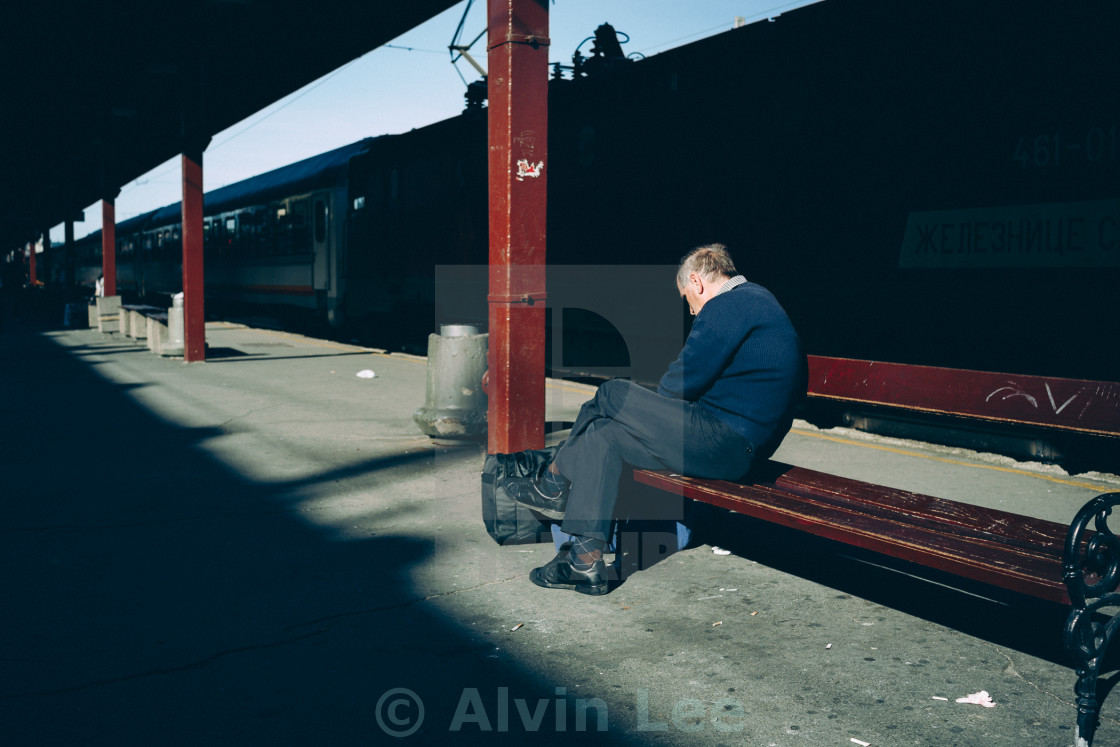 """Long wait"" stock image"