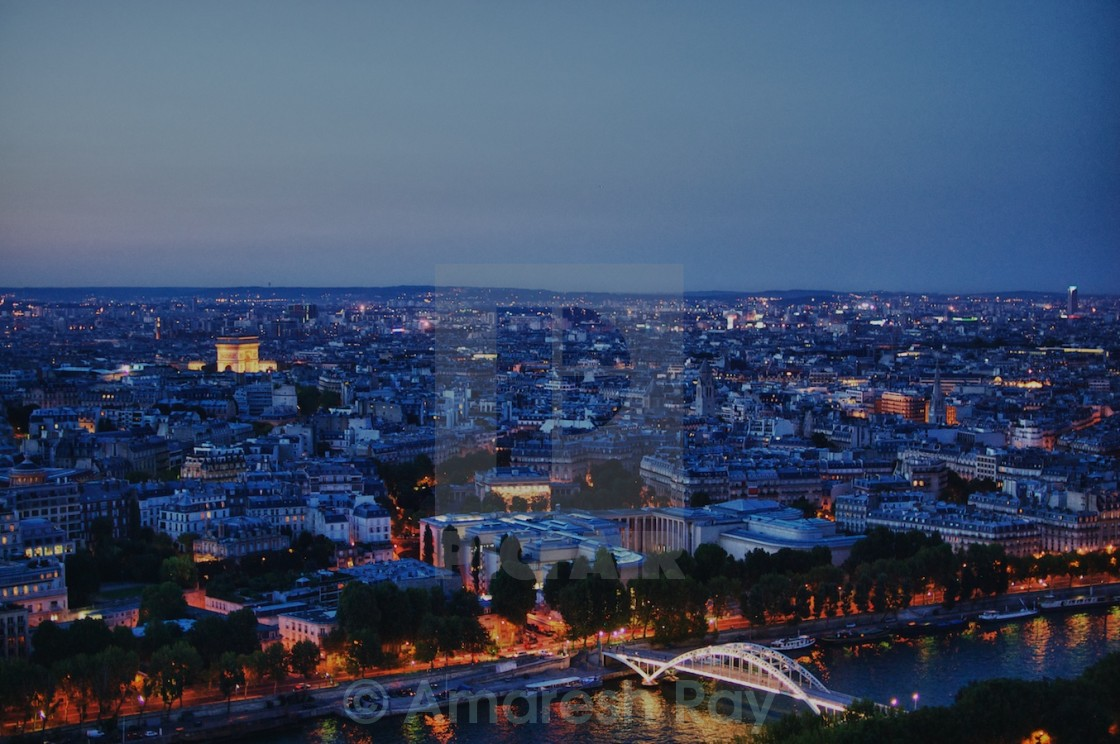 """Paris Skyline"" stock image"