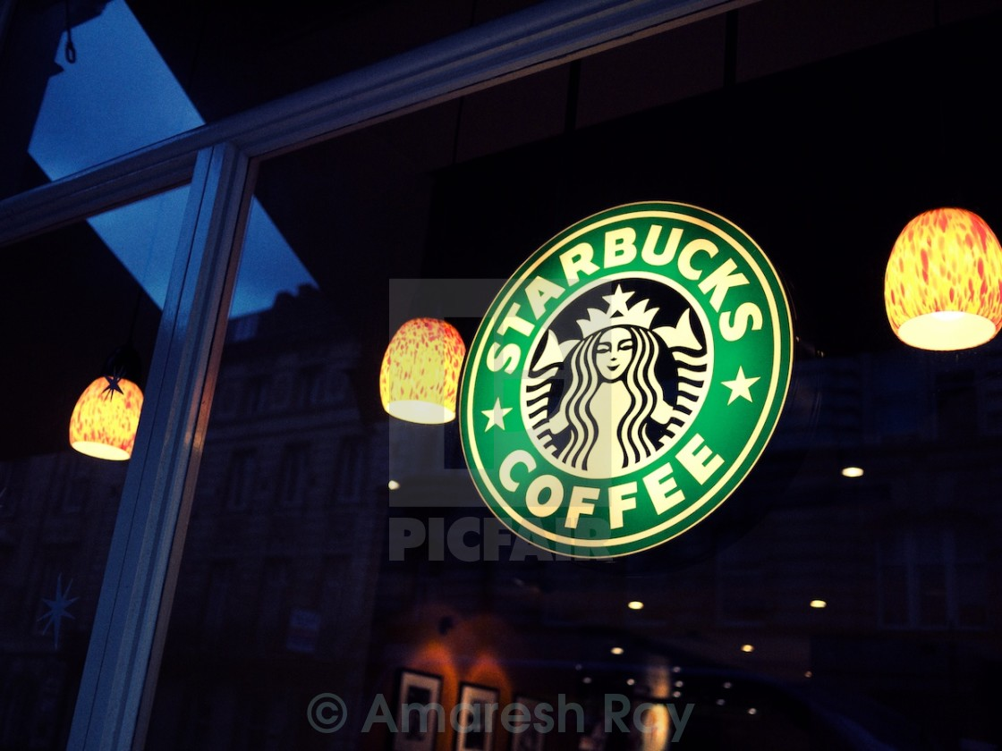 """Starbucks"" stock image"
