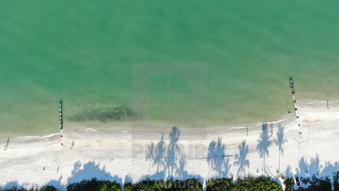 """""""Drone Aerial of Shore"""" stock image"""