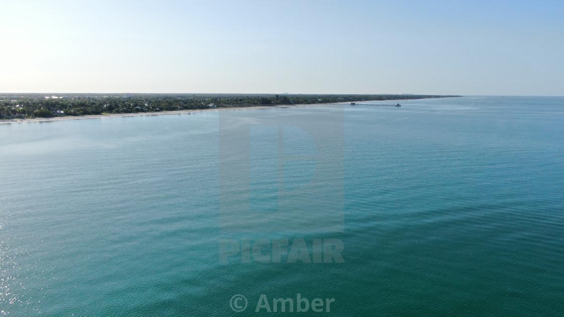 """Naples FL Coastline"" stock image"