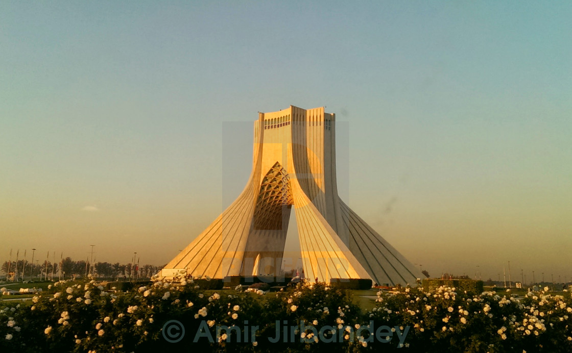 """Azadi Tower Tehran"" stock image"