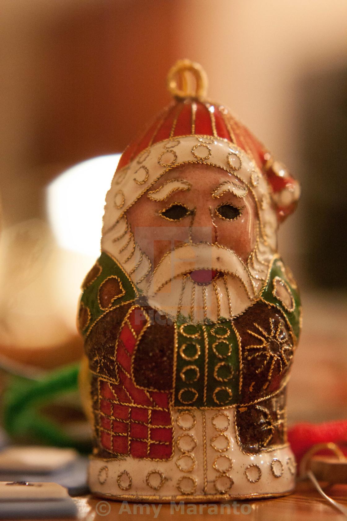 """Vintage Santa"" stock image"