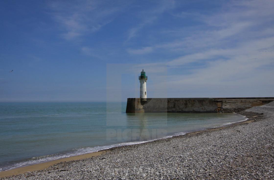 """Lighthouse on the Beach"" stock image"