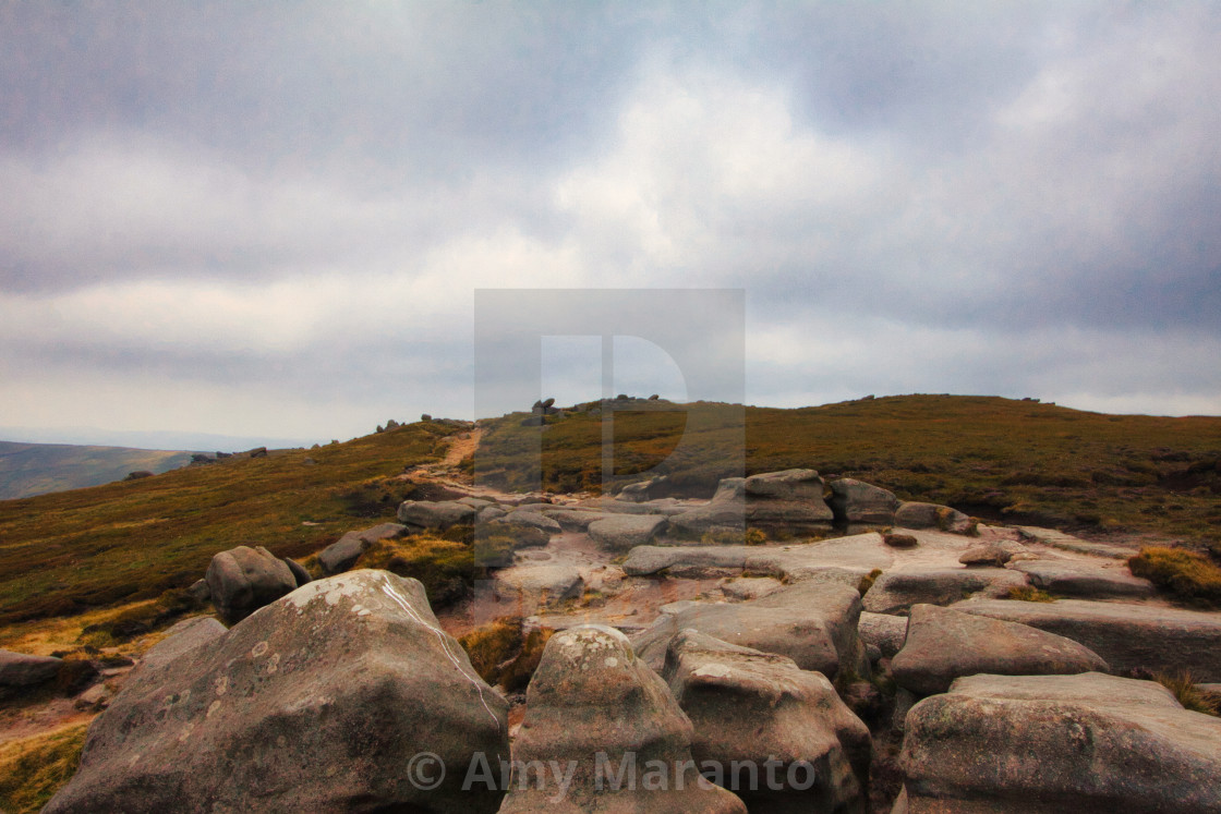 """Path in the Peak"" stock image"