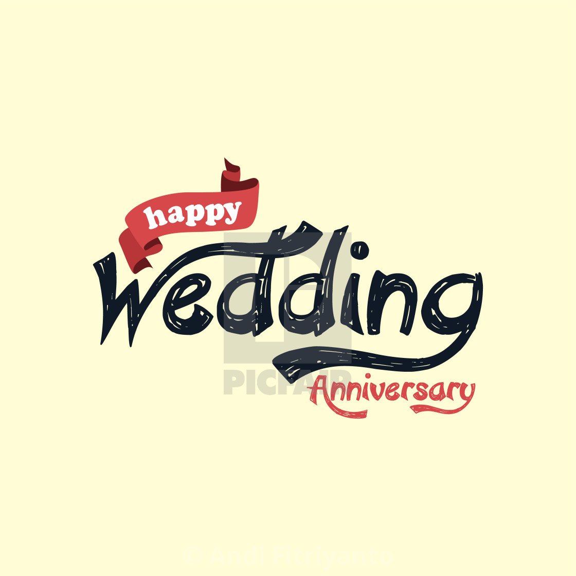 Happy Wedding Anniversary Theme License For 1240 On Picfair