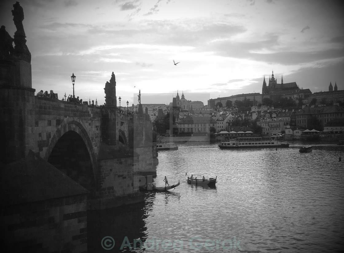 """Prague moods"" stock image"