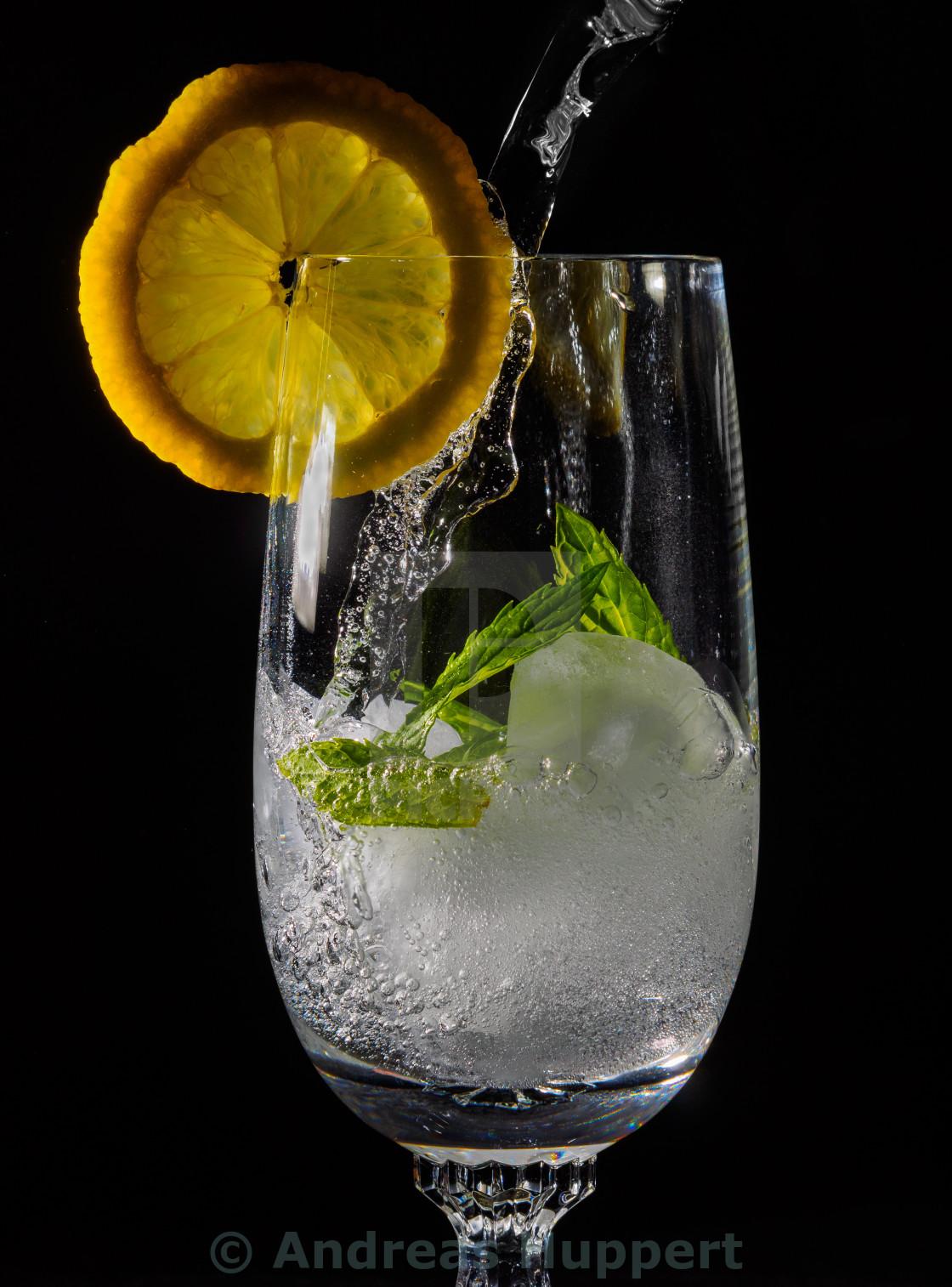 """Refreshing Drink"" stock image"