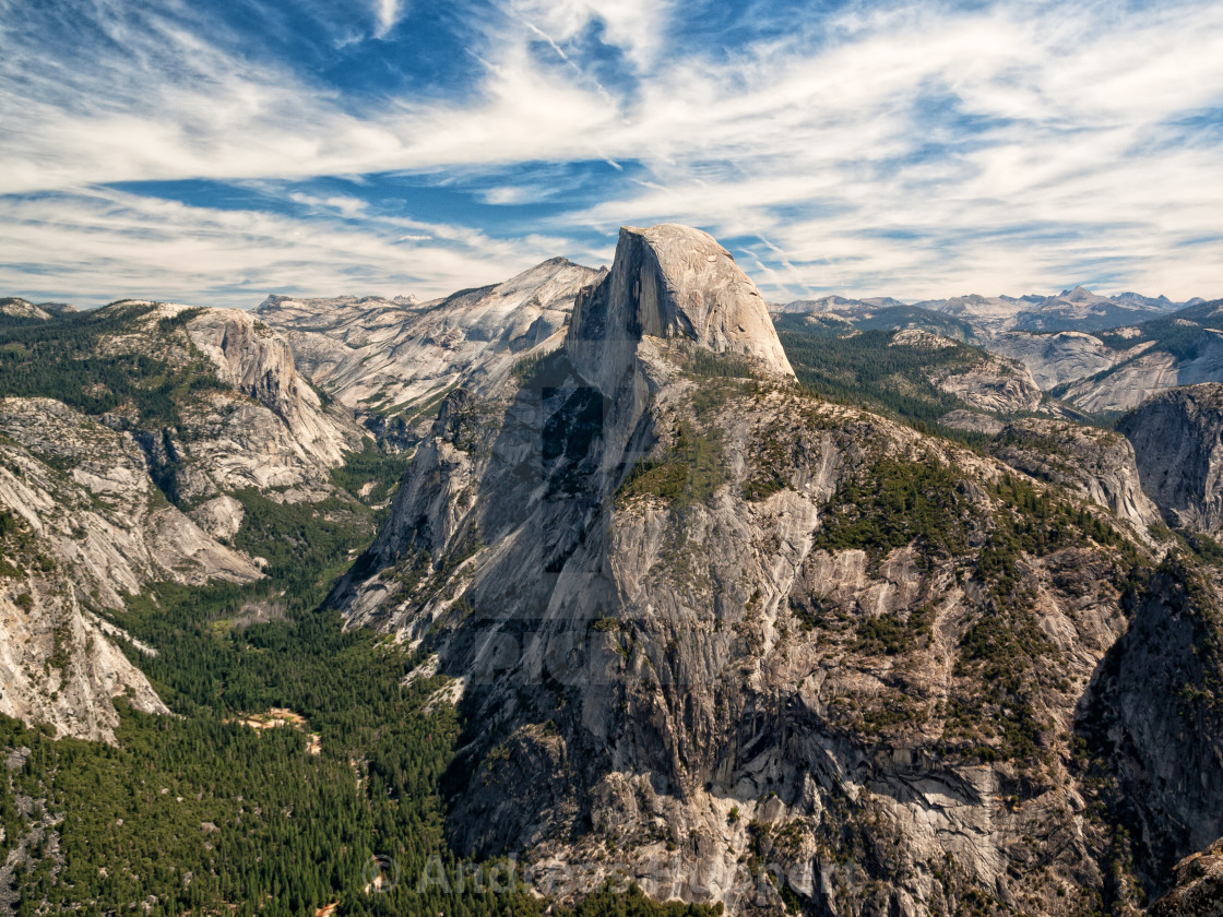 """Glacier Point View"" stock image"