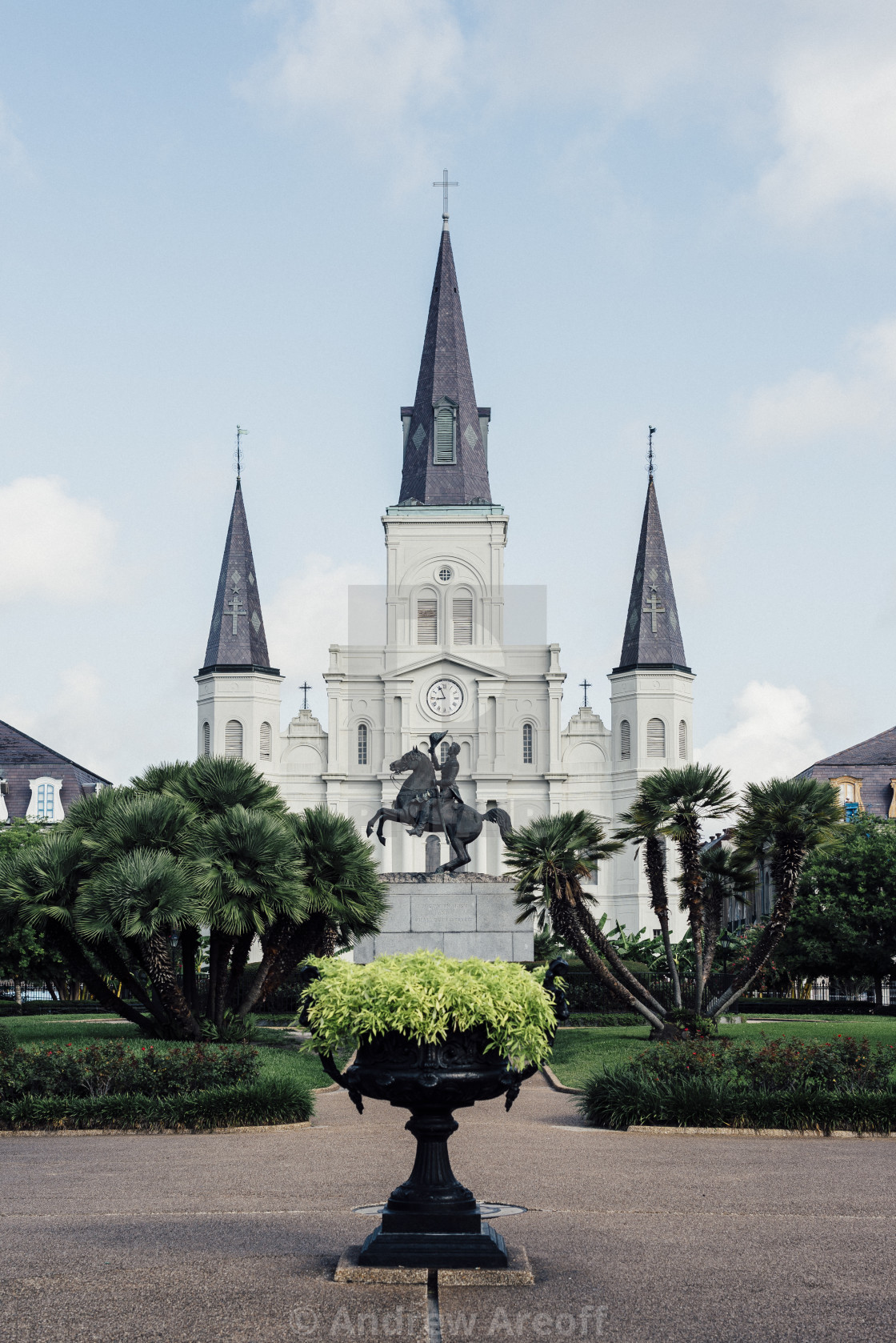 """""""St. Louis Cathedral – New Orleans"""" stock image"""