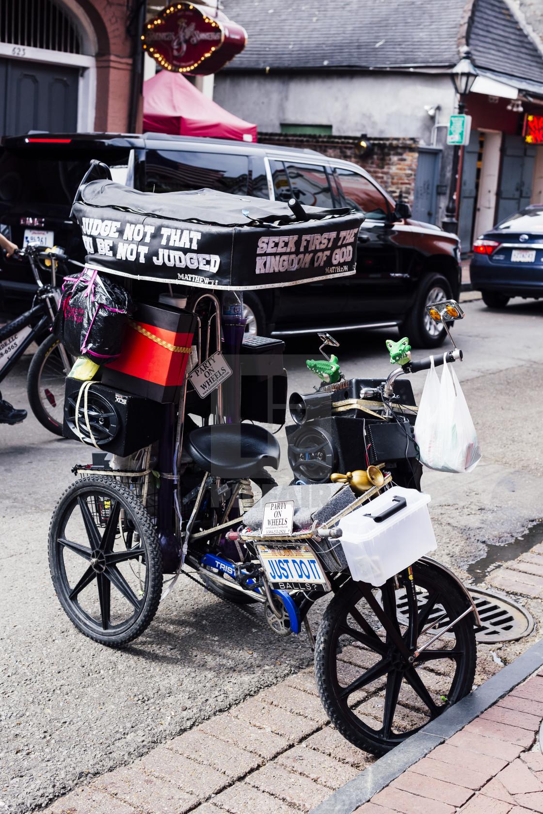 """""""Something on wheels"""" stock image"""