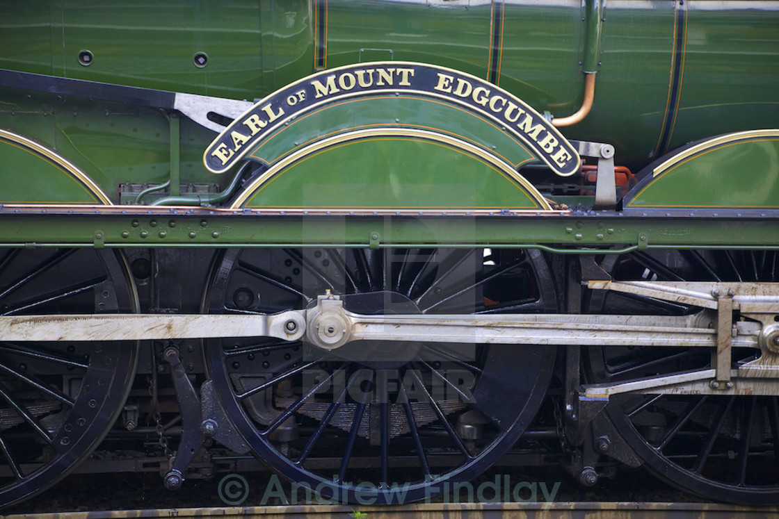 Earl of Mount Edgcumbe name plate  - License, download or