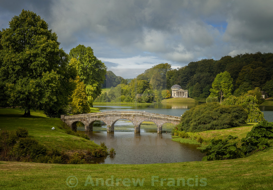 """Stourhead"" stock image"