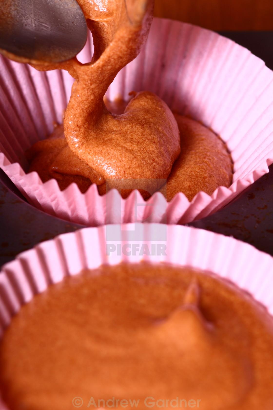 """Baking buns"" stock image"