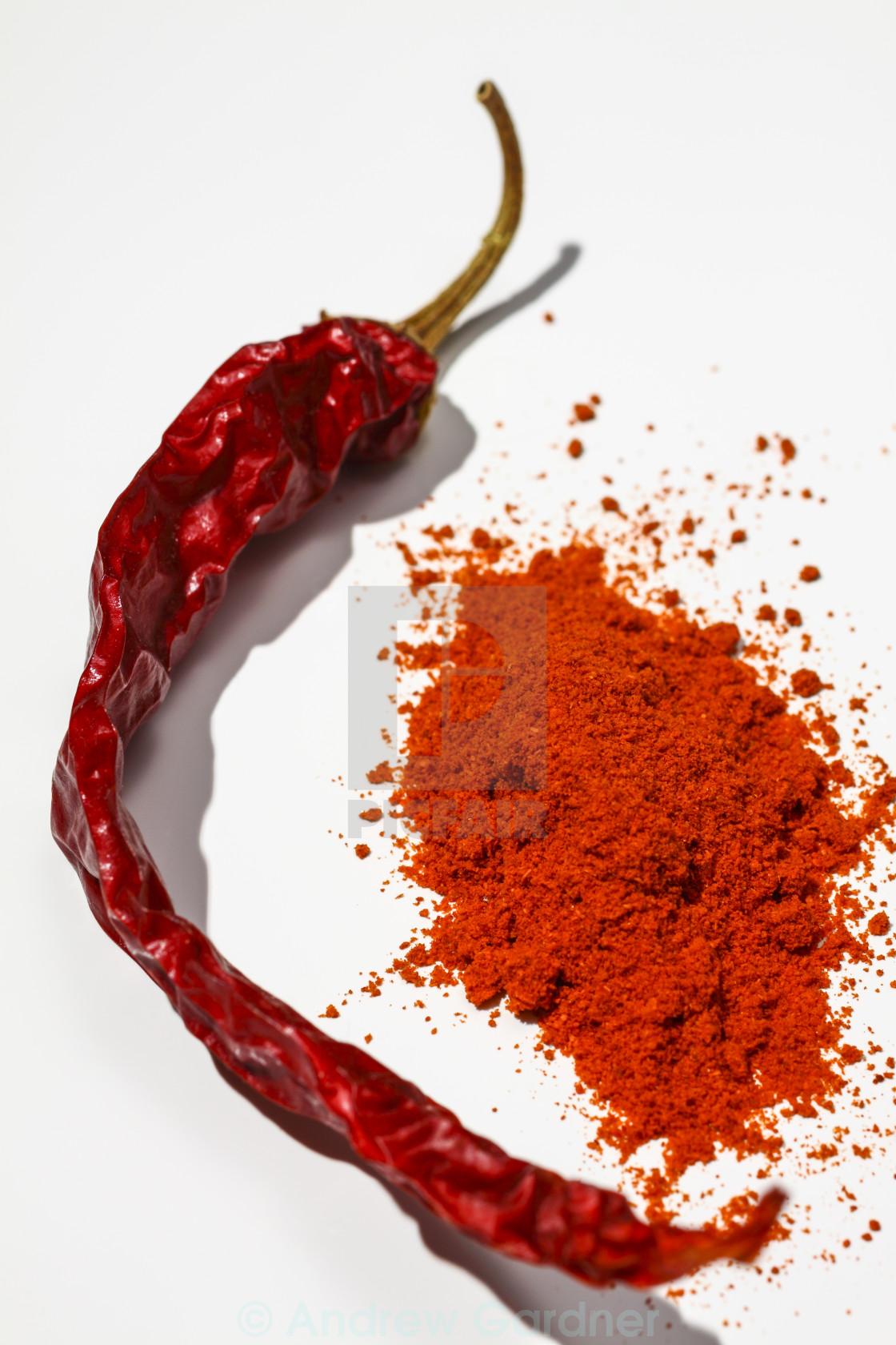 """Red chilli"" stock image"