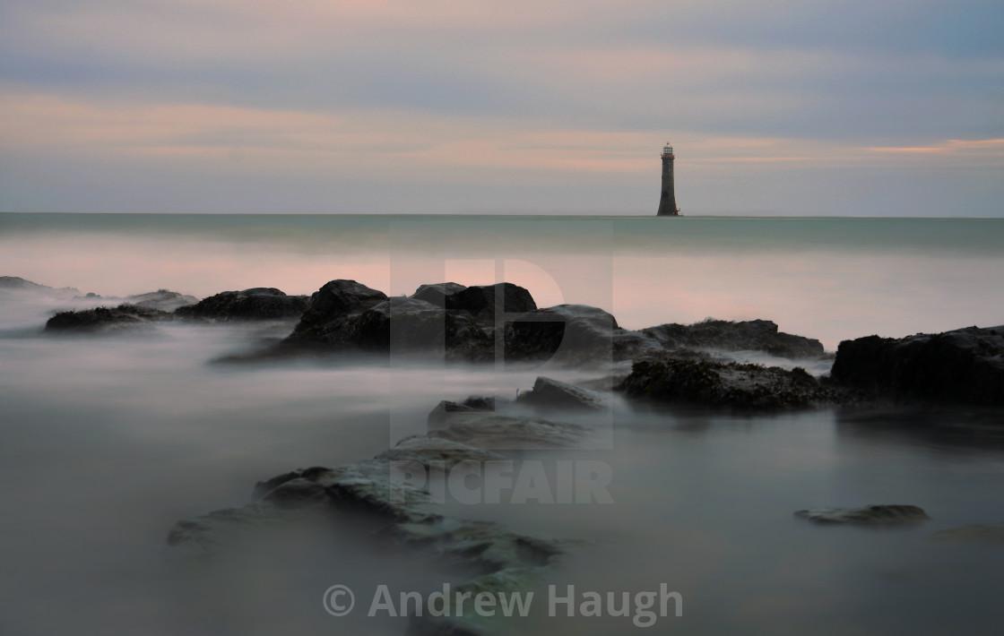 """""""Haulbowline Lighthouse."""" stock image"""