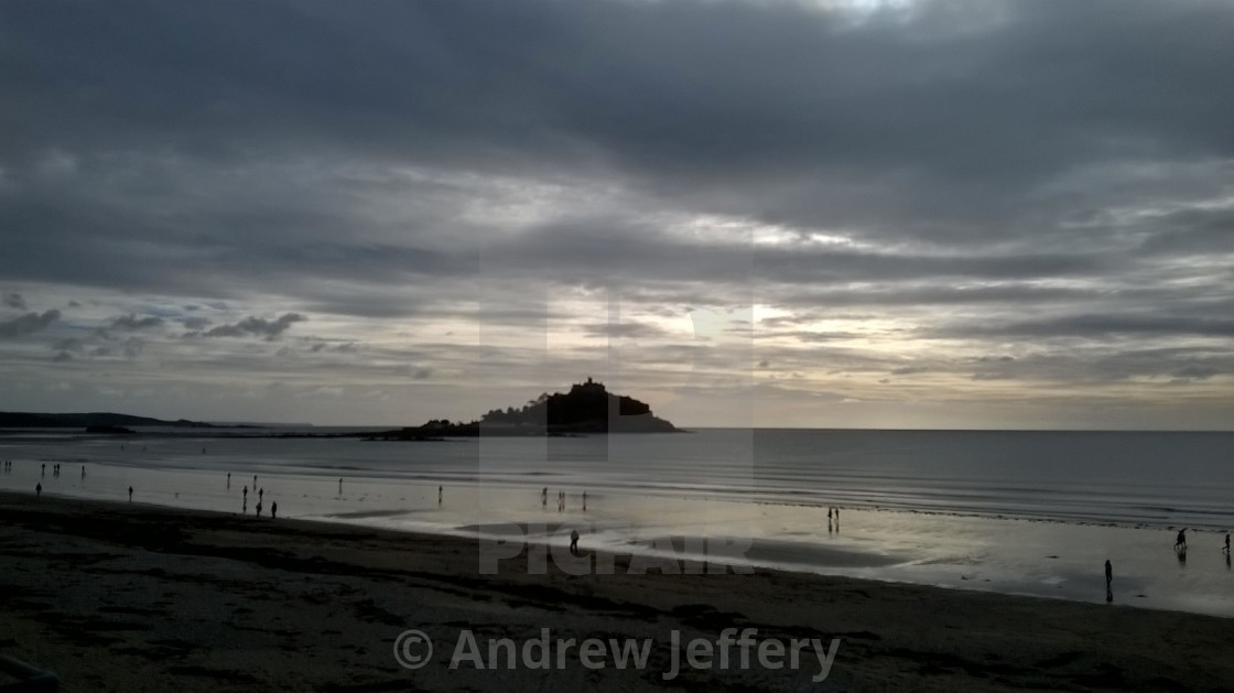 """St Michaels Mount"" stock image"