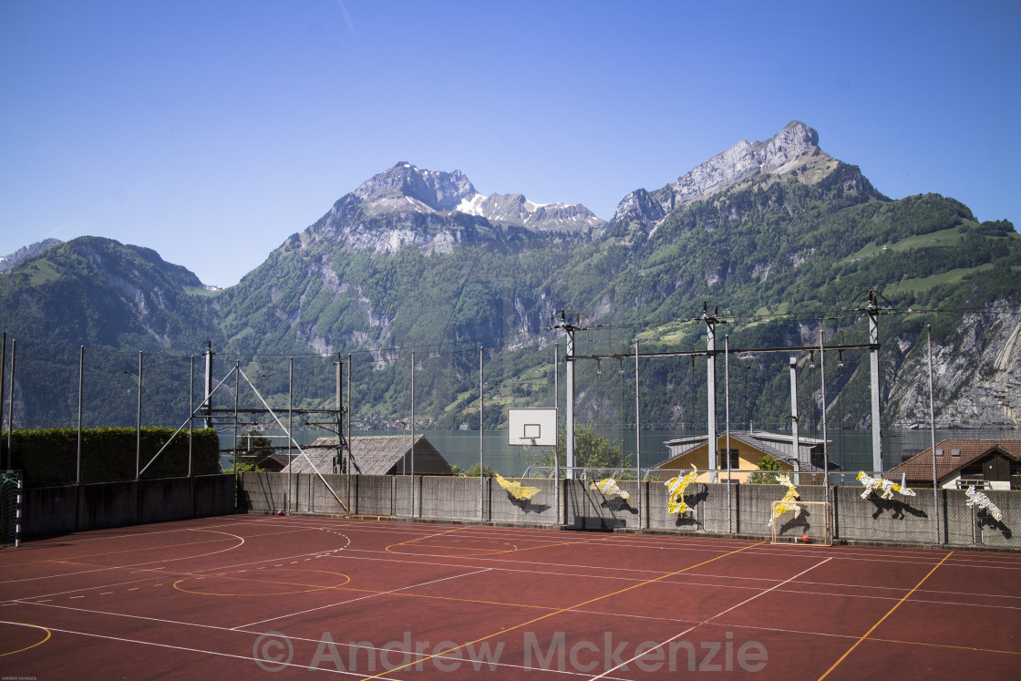 """Sisikon Switzerland"" stock image"