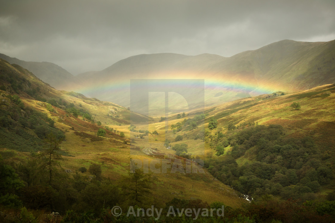 """Fell Rainbow"" stock image"