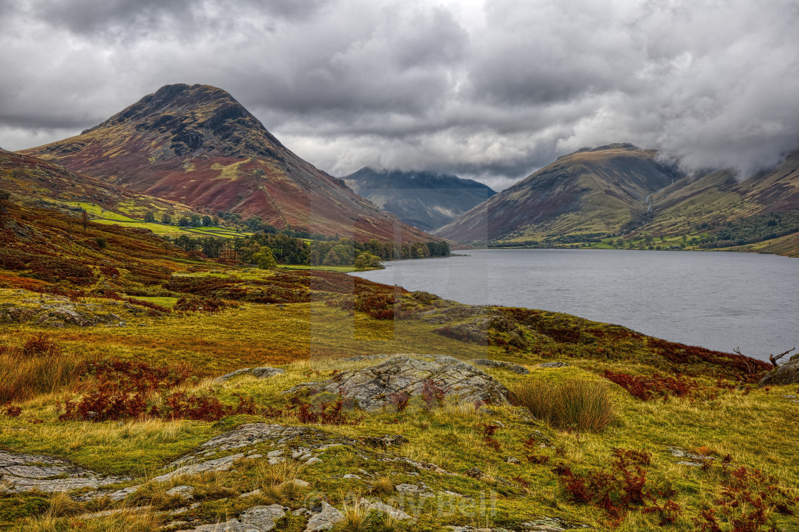 """Wasdale Head"" stock image"