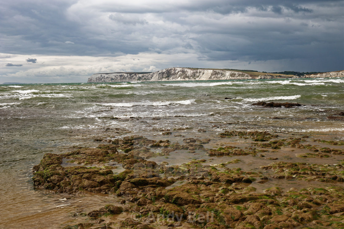 """Compton Bay Isle of Wight"" stock image"