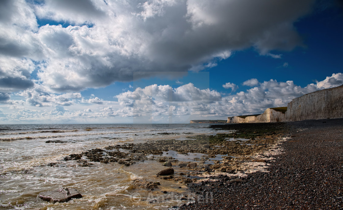 """Birling Gap, Sussex"" stock image"