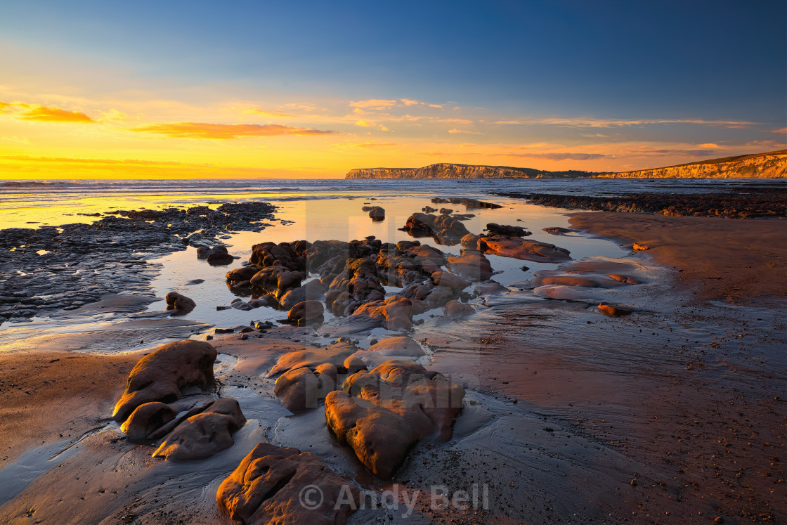 """Compton Bay"" stock image"