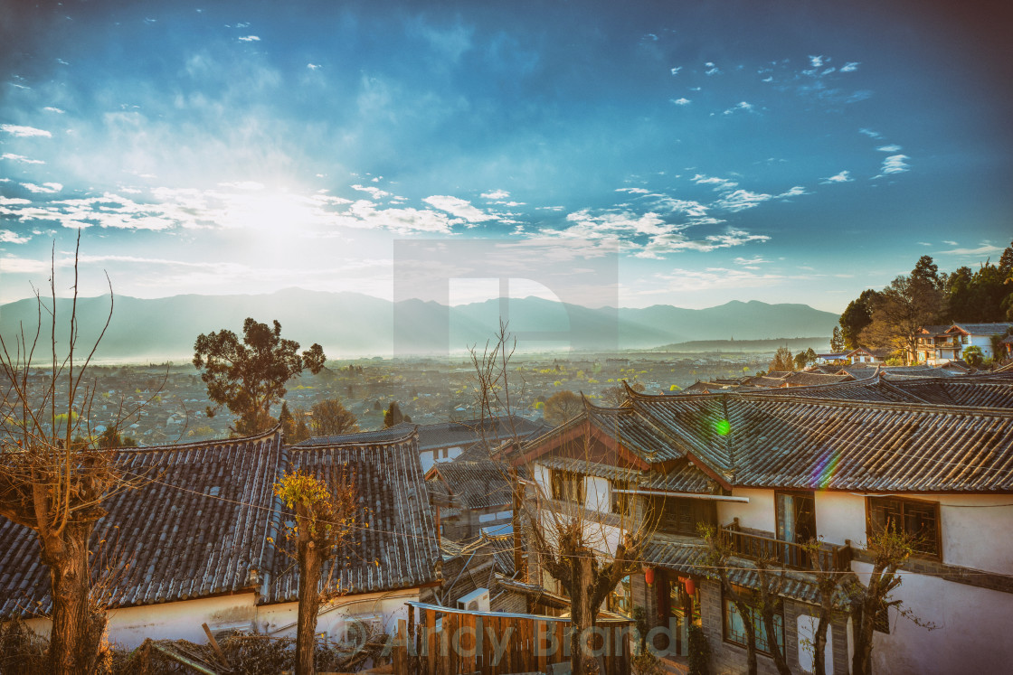 """Morning Mood (Lijiang,Yunnan)"" stock image"
