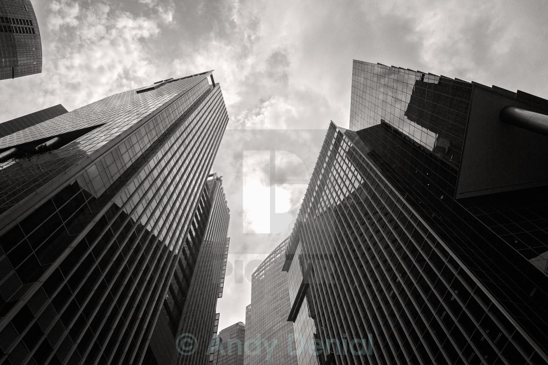 """City Towers"" stock image"