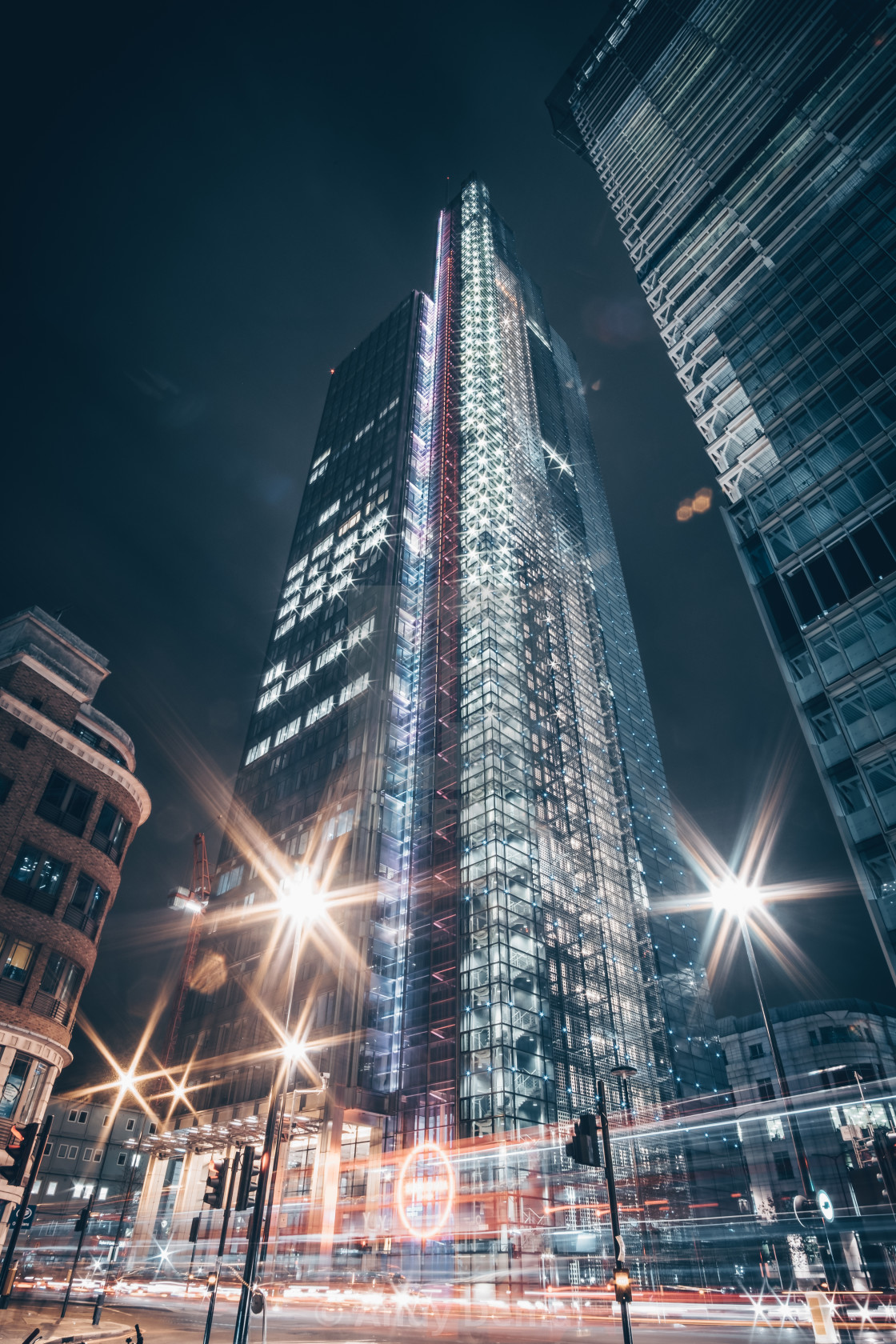 """Salesforce Tower"" stock image"