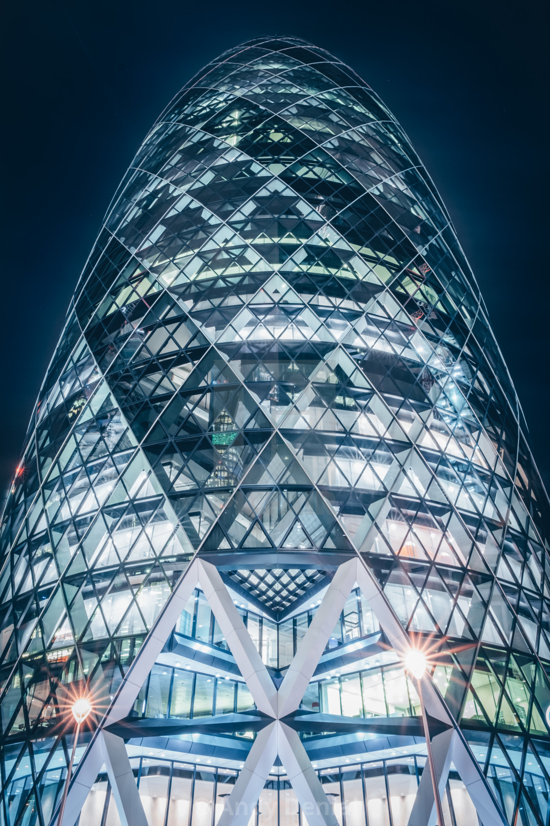 """Return to the Gherkin"" stock image"