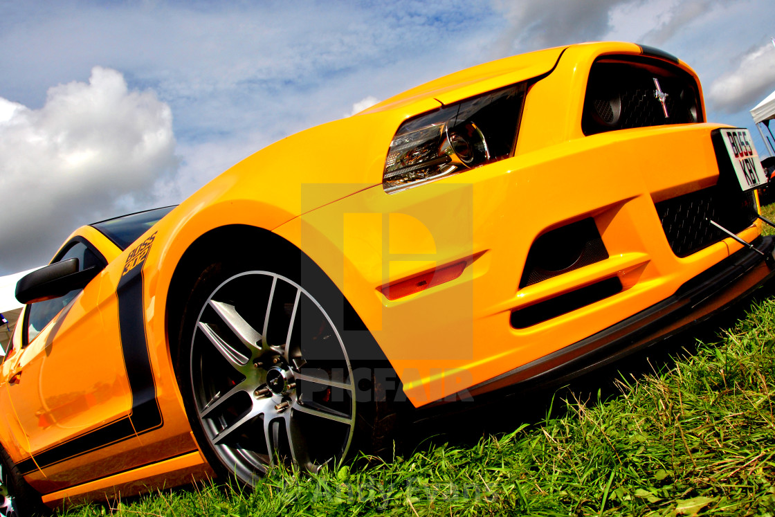 """Ford Mustang Sports Motor Car"" stock image"