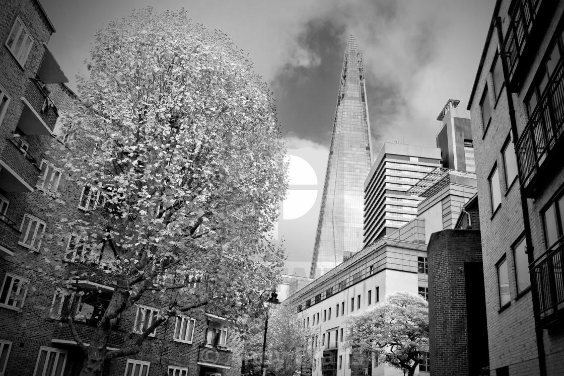 """The Shard London Bridge Tower"" stock image"