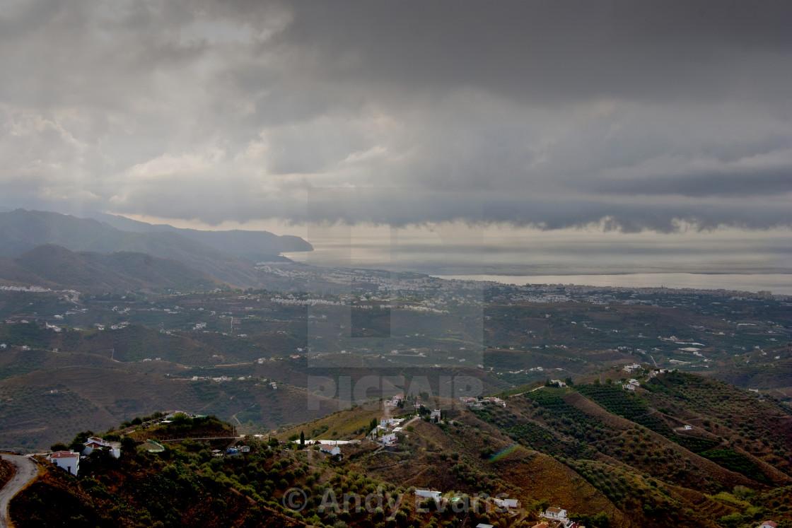 """Nerja Andalusia Costa Del Sol Spain"" stock image"