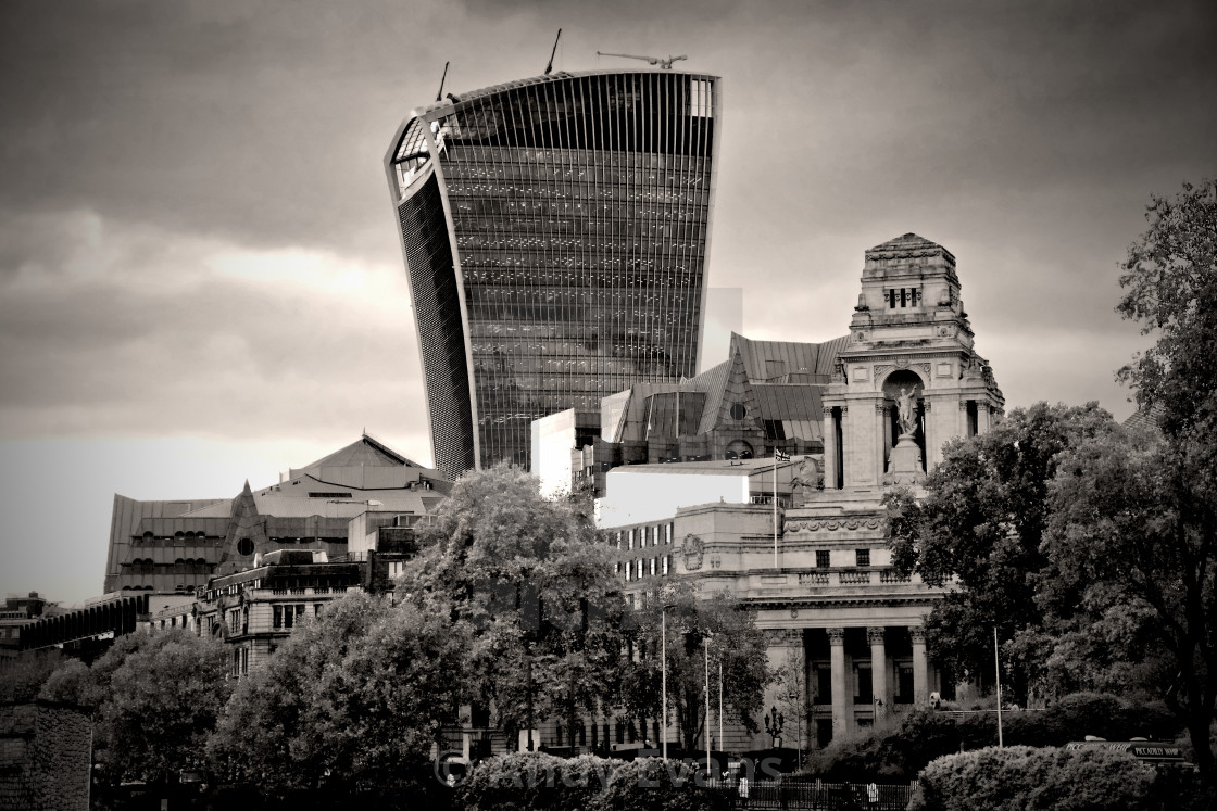 """20 Fenchurch Street Trinity House London"" stock image"