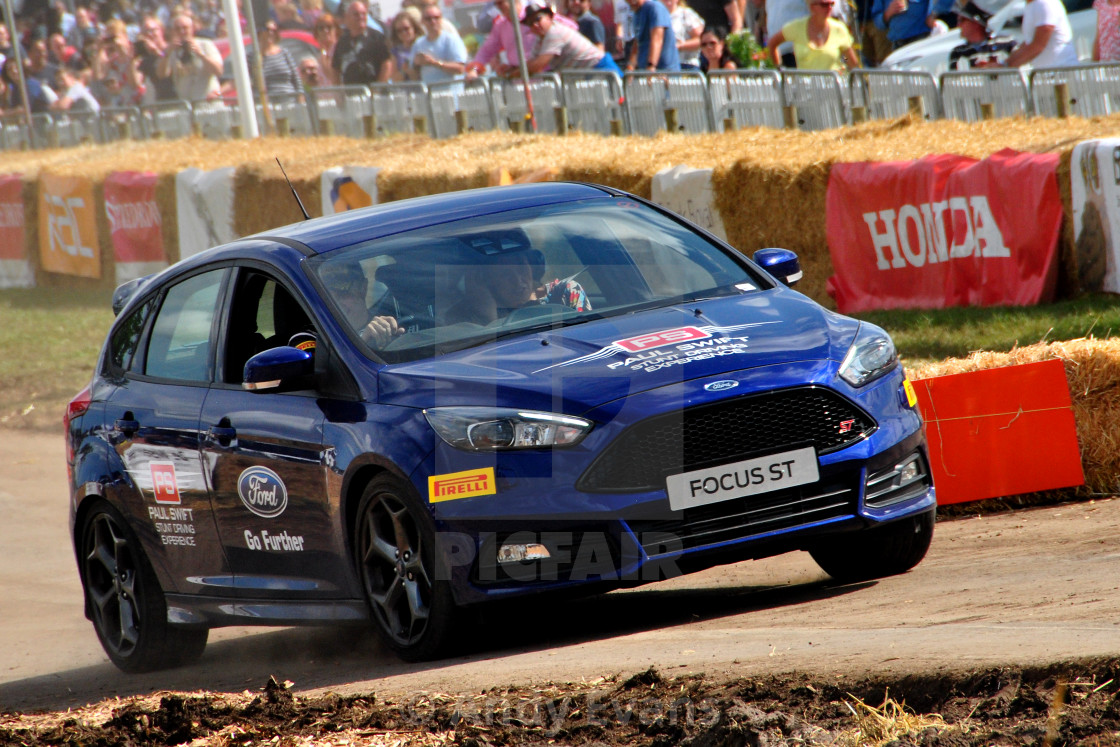 """""""Ford Focus ST Sports Motor Car"""" stock image"""