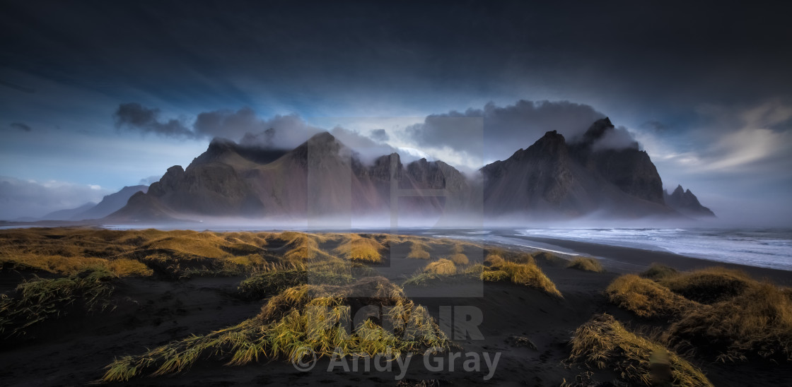 """Vestrahorn Dawn"" stock image"