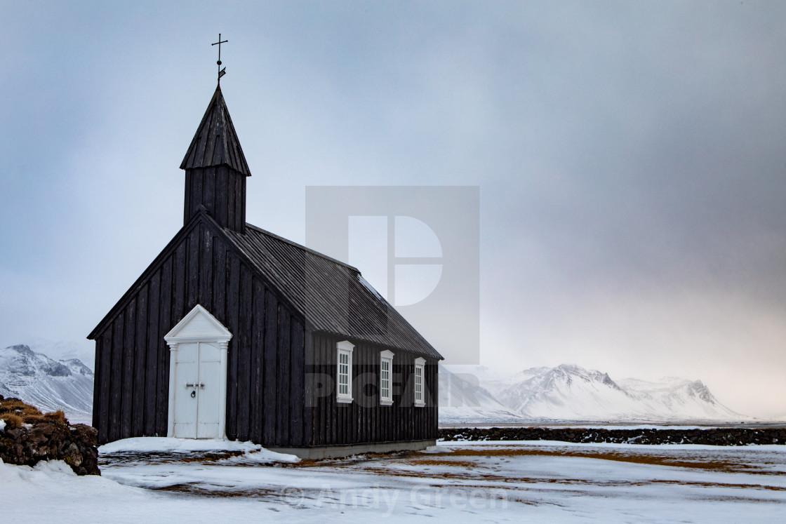 """Black Church Budir"" stock image"