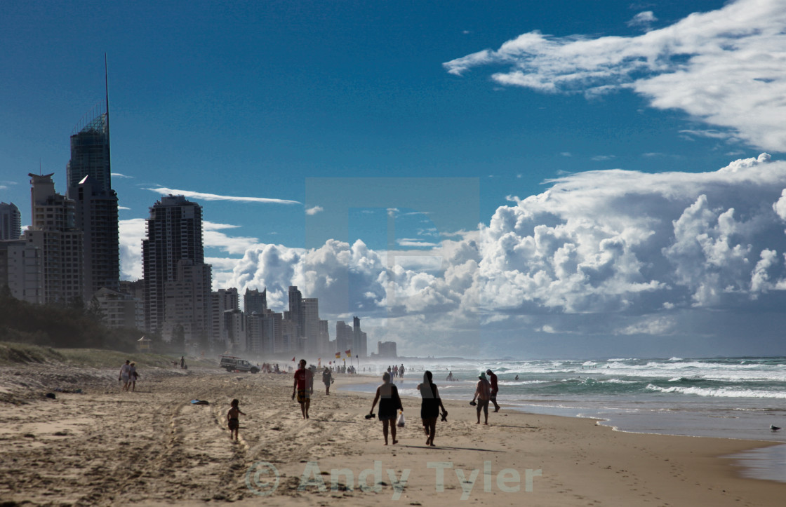 """City-beach-scape"" stock image"