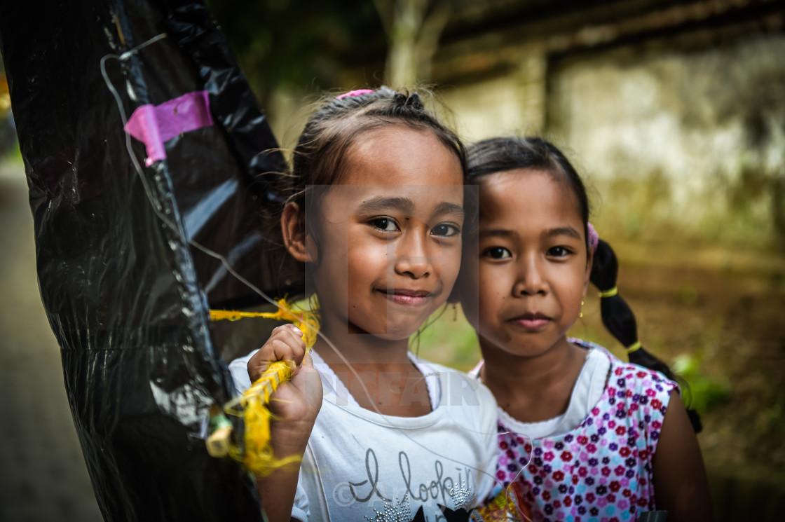 """Bali Girls"" stock image"