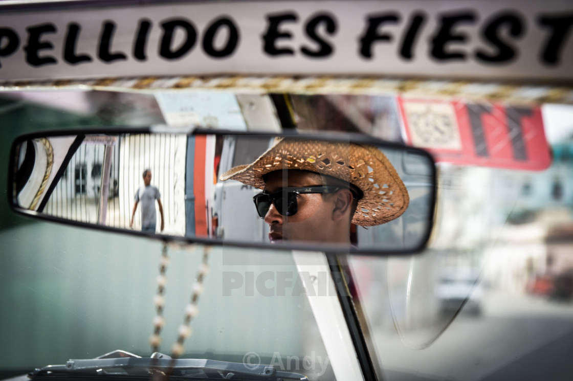 """Rearview Mirror"" stock image"