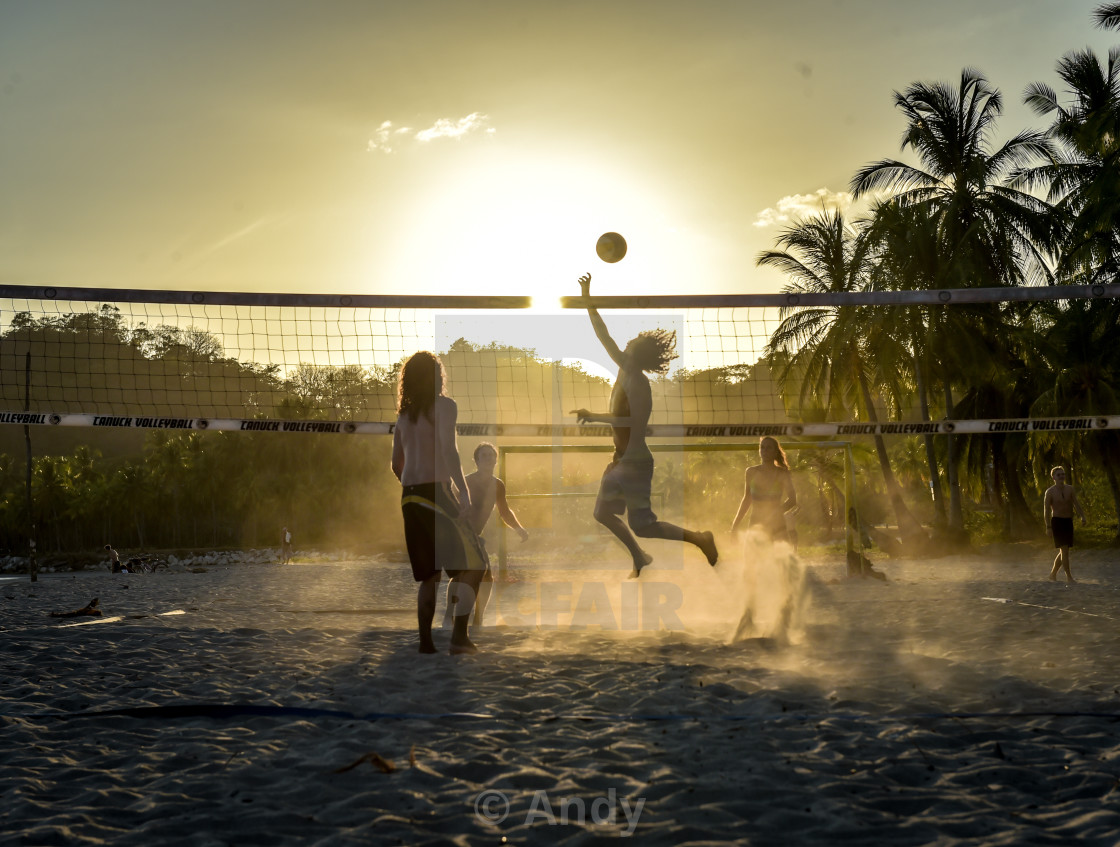 """Beach Volleyball"" stock image"