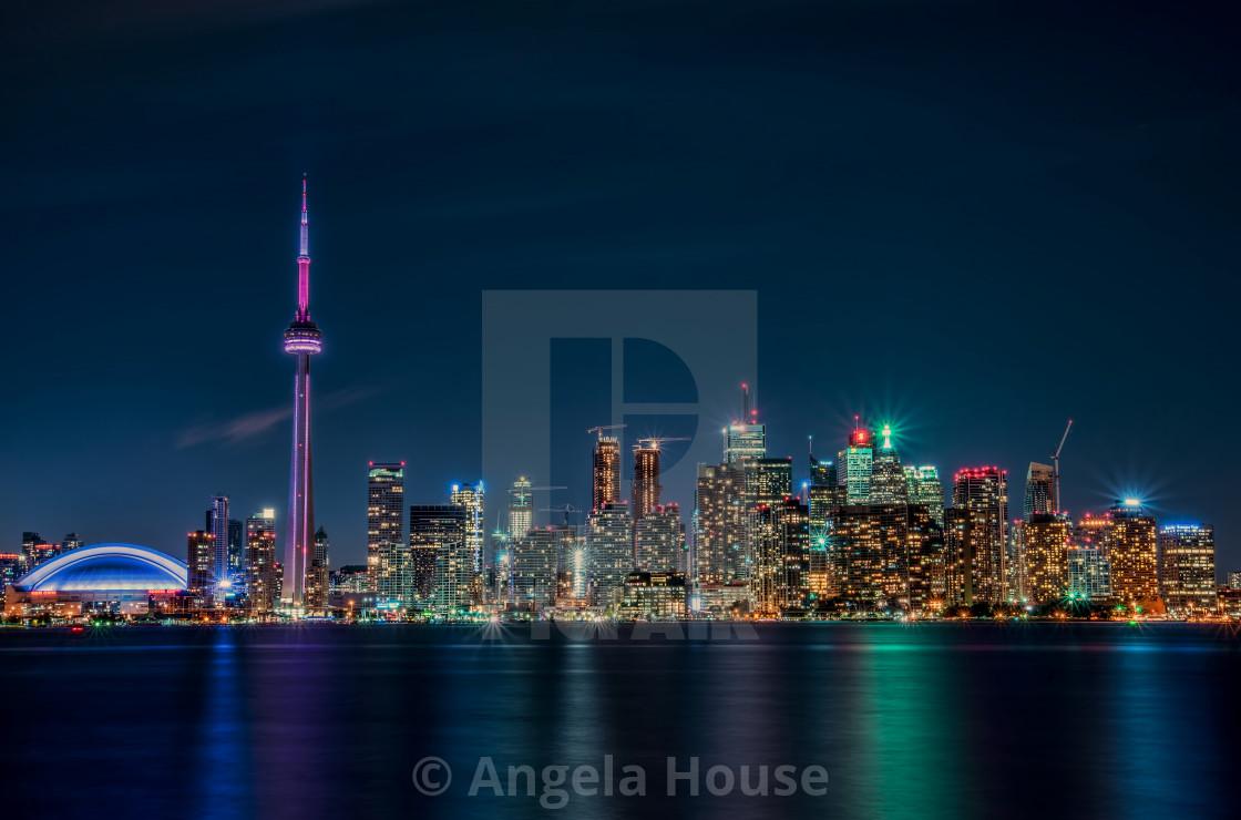 """""""Toronto Skyline, Ontario"""" stock image"""
