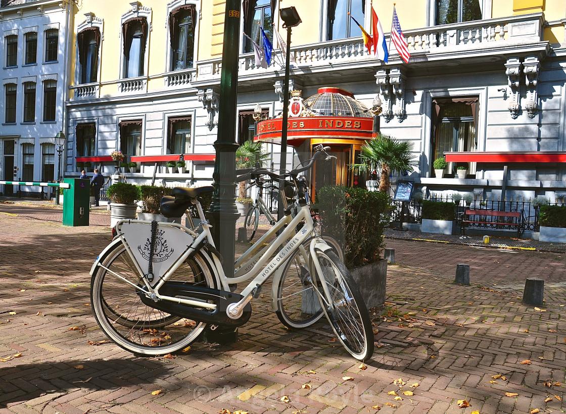 """""""Hotel Des Indes, Den Haag"""" stock image"""