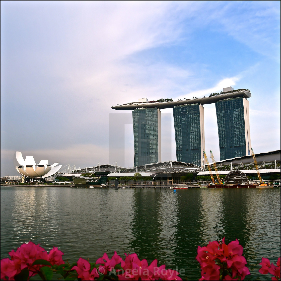 """Singapore Bayfront"" stock image"