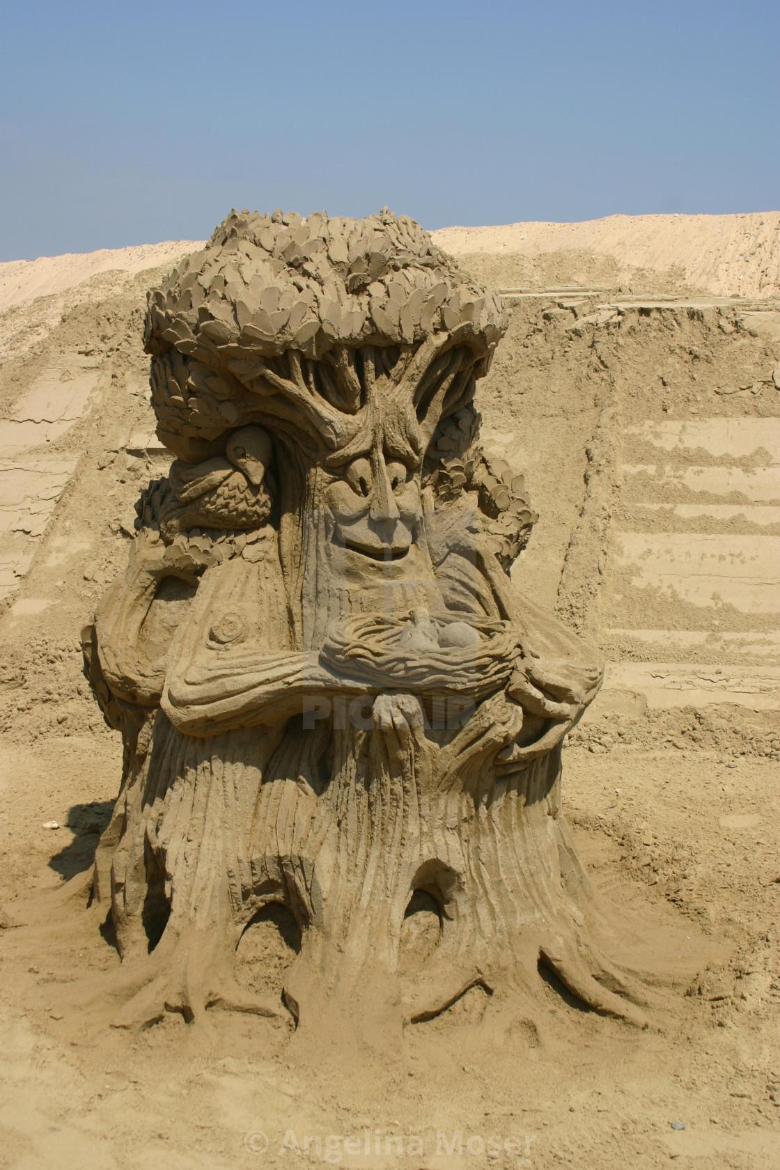 """Sand Sculpture"" stock image"